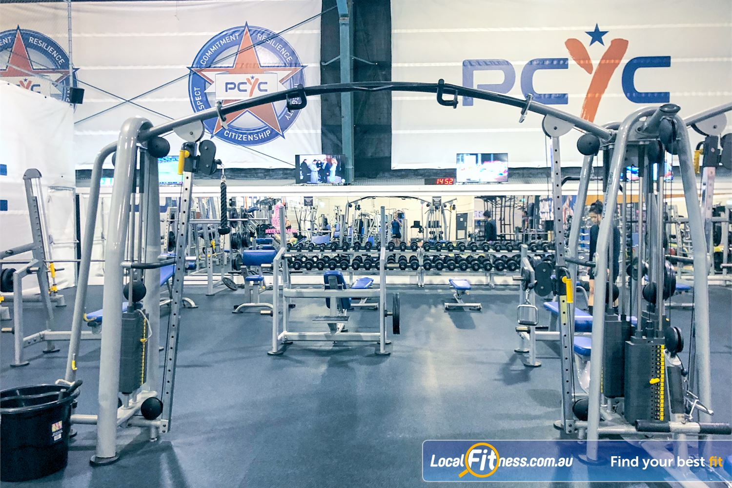 PCYC Auburn Lidcombe Our Auburn gym is perfect for all types of strength training.