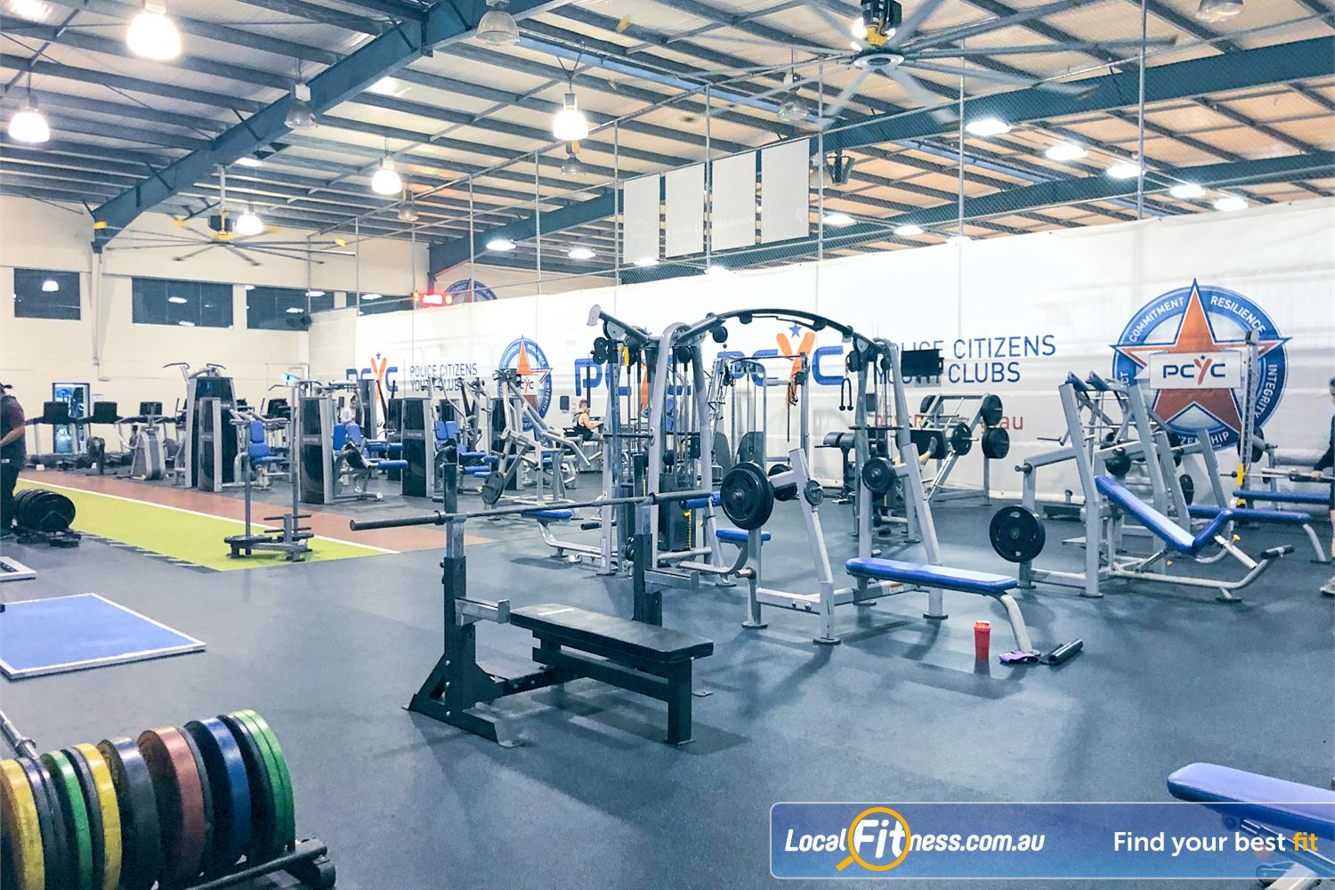 PCYC Auburn Near Rookwood Multiple bench presses, benches, weight plates and more.