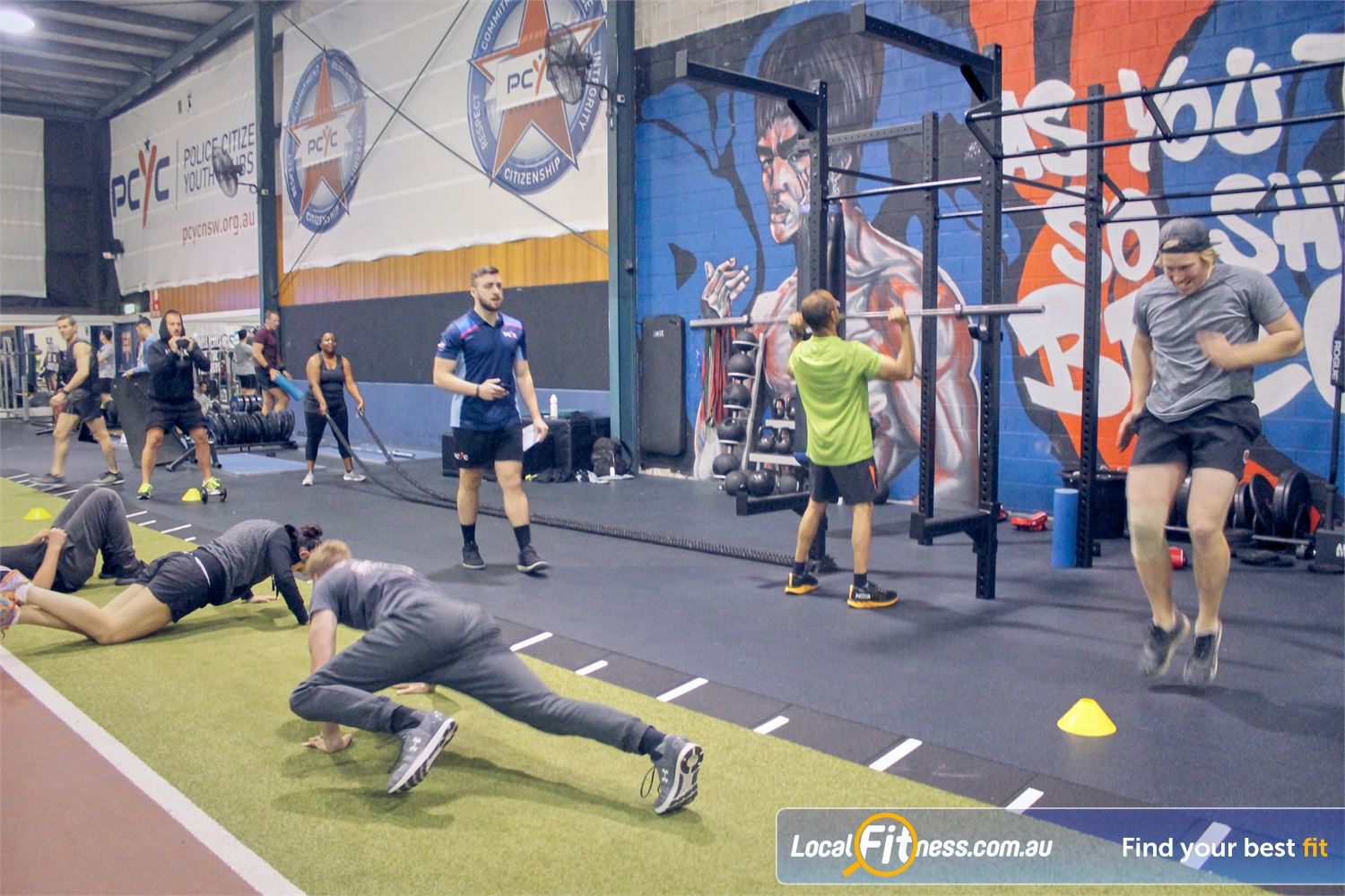 PCYC Auburn Lidcombe Join our coach-led functional training classes.