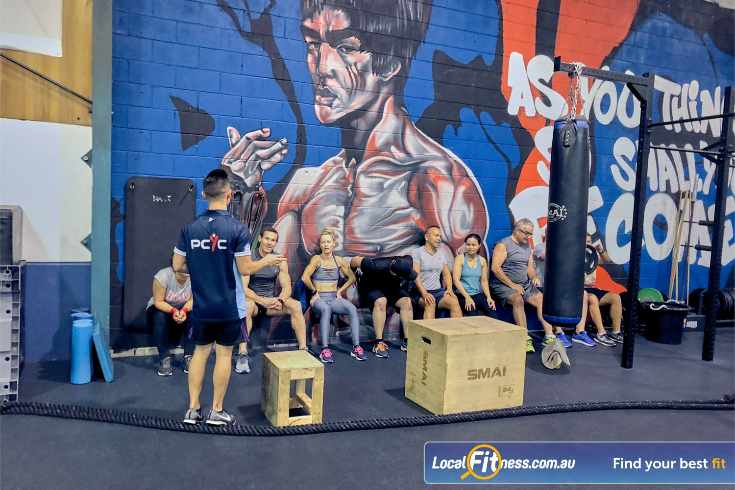 PCYC Auburn Lidcombe Our coaches will change your fitness with high-intensity training.