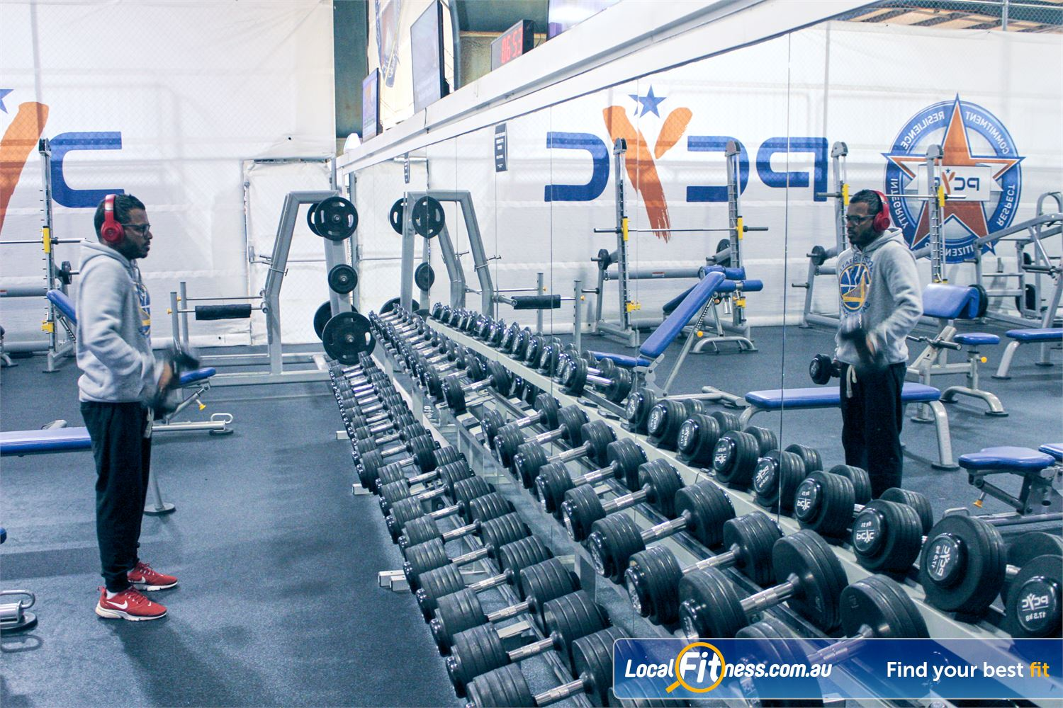 PCYC Auburn Lidcombe Our Auburn gym includes a free-weights area catering for all levels.