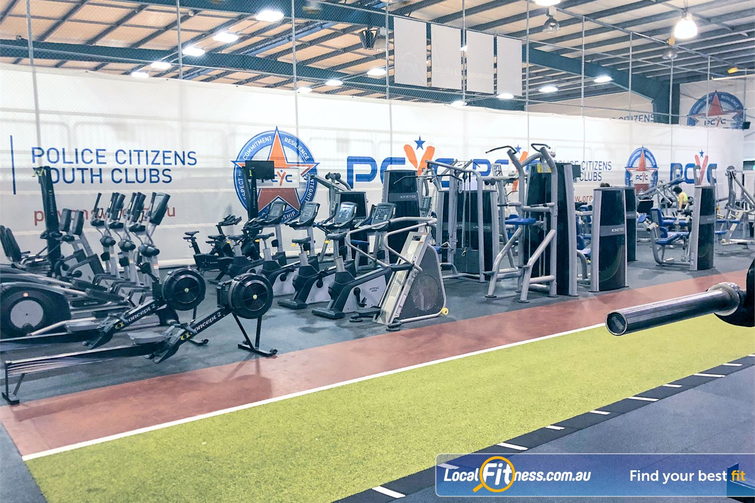 PCYC Auburn Lidcombe Mix up your cardio to include indoor sprints on our running track.