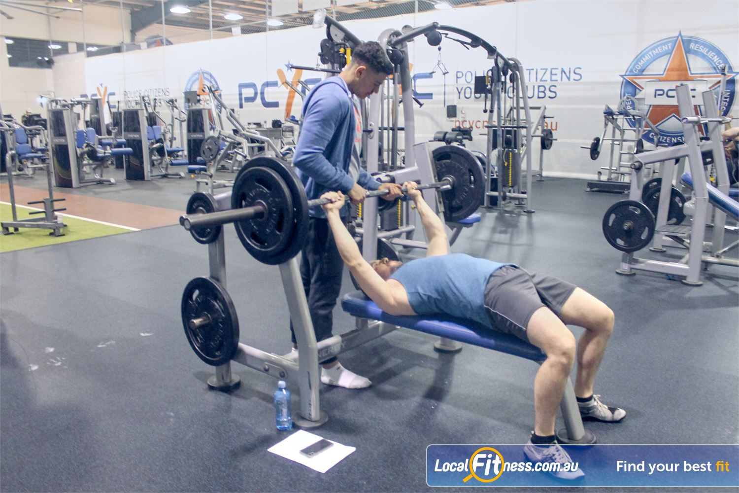 PCYC Auburn Lidcombe Our Auburn personal training can help you with your weight training goals.