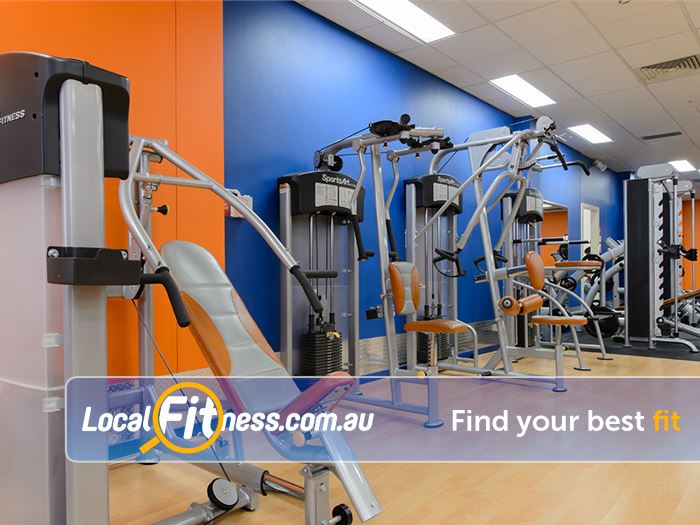 Plus Fitness Health Clubs Gladesville State of the art Gladesville gym access 24 hours a day.