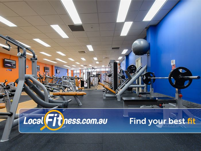 Plus Fitness Health Clubs Gym Burwood    State of the art gym access 24 hours