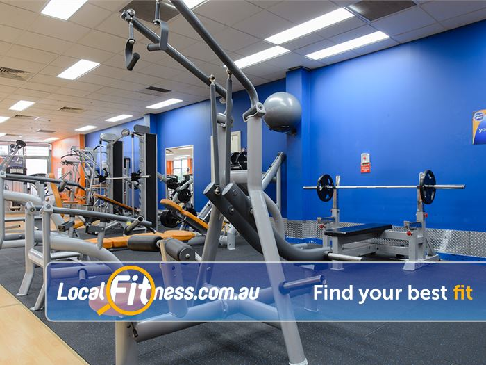 Plus Fitness Health Clubs Gladesville State of the art pin and plate loading machines from Sports Art.