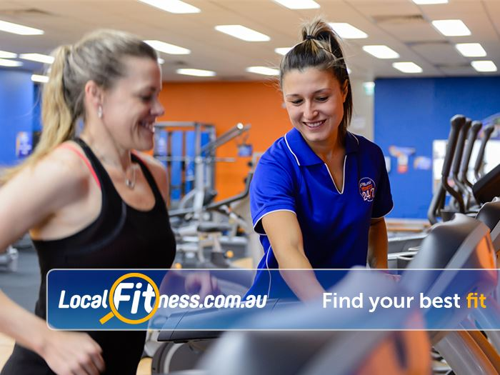 Plus Fitness Health Clubs Near Tennyson Point Our Gladesville gym provides 24 hour cardio access.