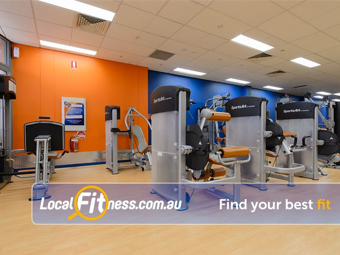 Plus Fitness Health Clubs Near Huntleys Point Our spacious Gladesville gym floor is open 24 hours a day.