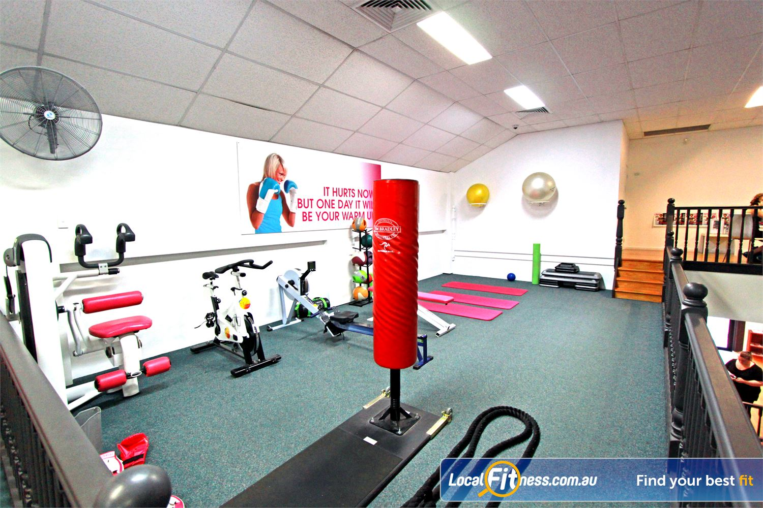 Fernwood Fitness Southland Near Mentone Get into High intensity training with boxing, ropes, kettlebell and more.