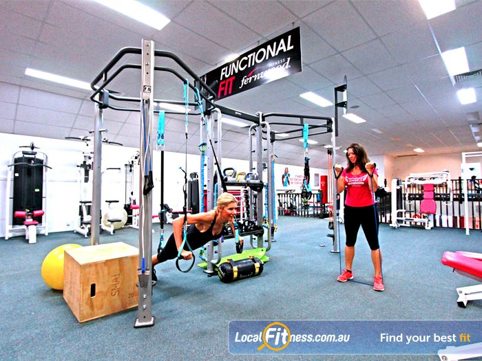 Fernwood Fitness Southland Mentone Ladies Gym Fitness Our functional training rig,