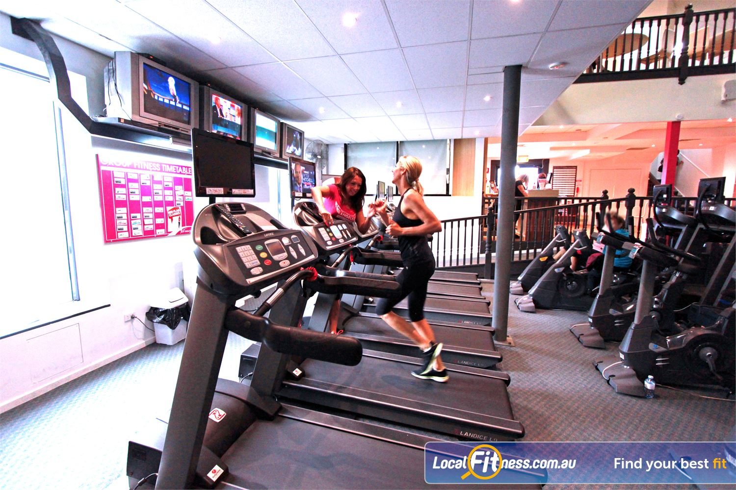 Fernwood Fitness Southland Cheltenham Treadmills, cycle bikes, cross-trainers and more.