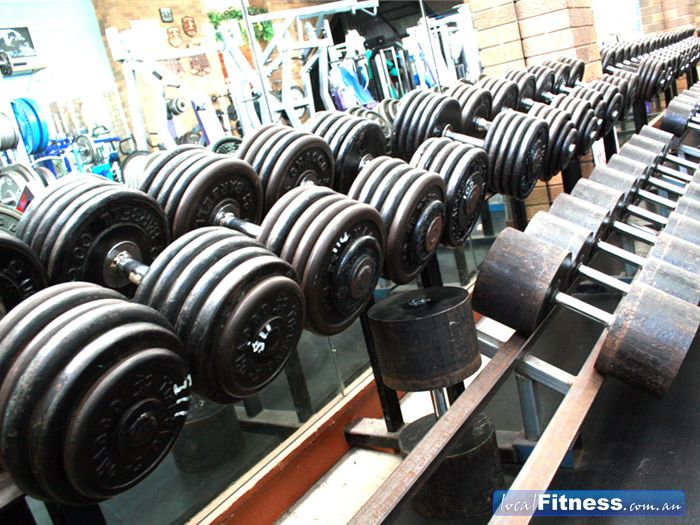 Energym Health & Fitness Free-Weights Area Frankston | Heavier Weights for The&&Serious Trainers ...