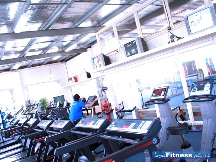 Energym Health & Fitness Gym Hastings  | Wide selection of cardio equipment.