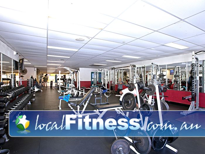 PCYC Gym Bardon  | The Fortitude Valley gym is fully equipped for