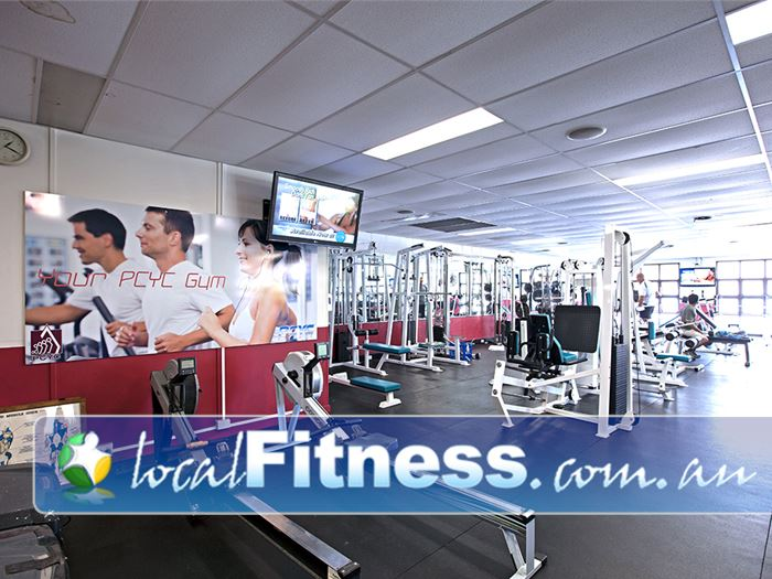 PCYC Gym Lutwyche  | Full range of state of the art cardio