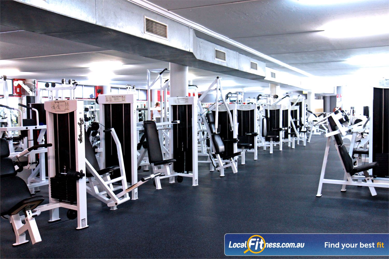 Goodlife Health Clubs Alexandra Hills The Alexandra Hills gym includes over 4000 sq/m of fitness.