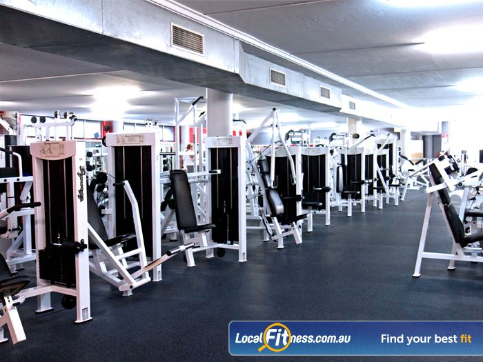 Goodlife Health Clubs Gym Cleveland  | The Alexandra Hills gym includes over 4000 sq/m