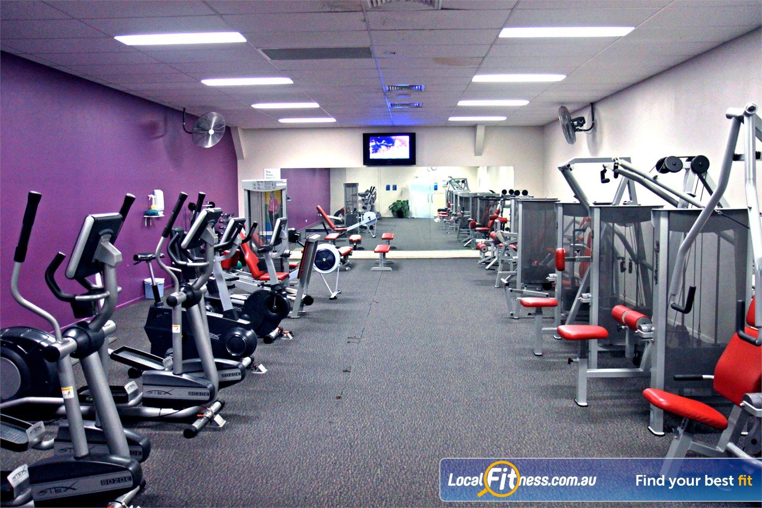 Goodlife Health Clubs Near Thornlands Our ladies gym supports a family-friendly gym environment.