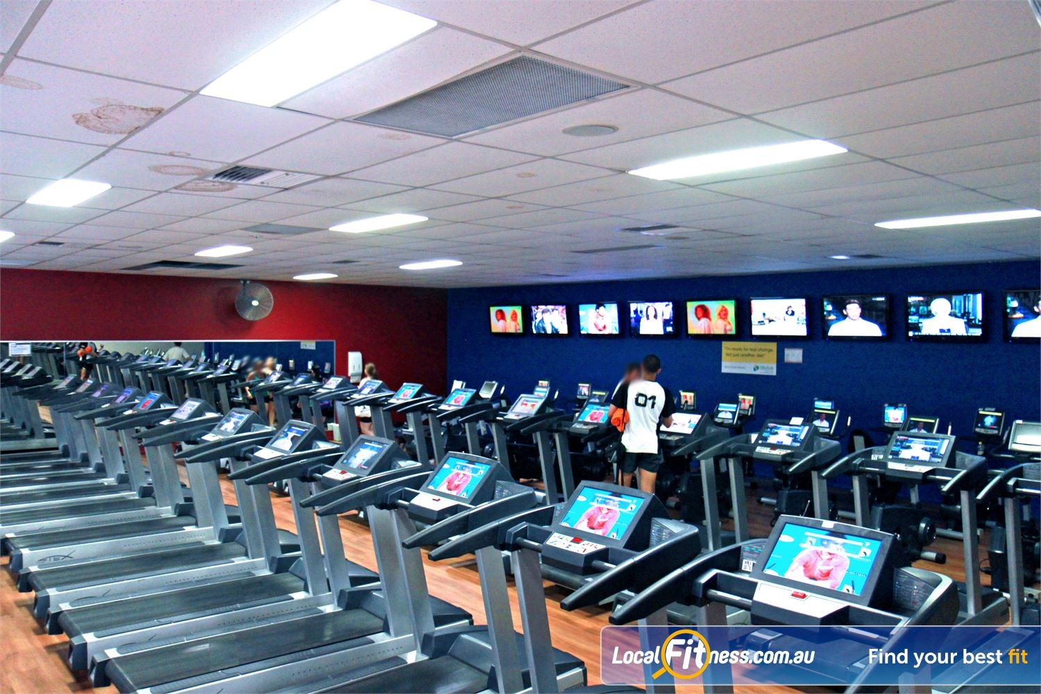 Goodlife Health Clubs Near Lota Goodlife Alexandra Hills gym provides multiple machines so you don't have to wait.
