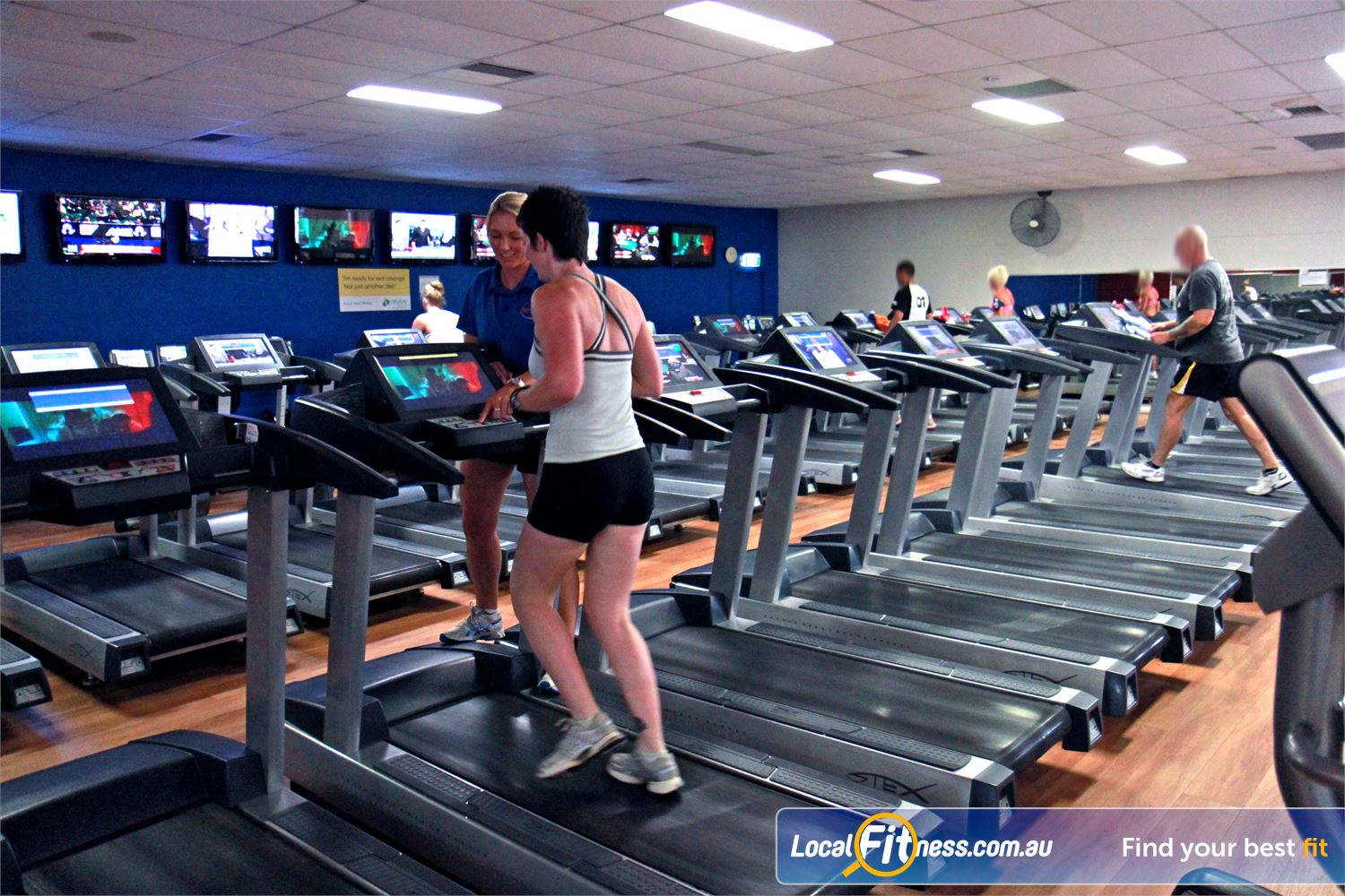 Goodlife Health Clubs Near Cleveland Tune into your favorite shows on your personalised LCD screen or cardio theatre.