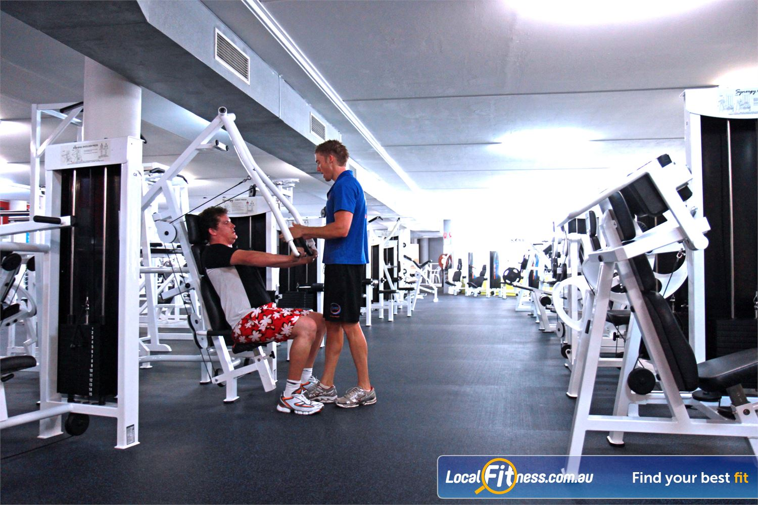 Goodlife Health Clubs Near Thornlands Alexandra Hills gym instructors can tailor a strength program to suit you.