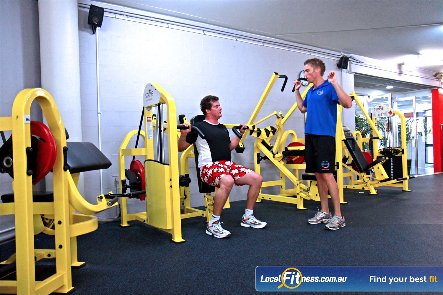 Goodlife Health Clubs Alexandra Hills Our Alexandra Hills gym includes the innovative 1-2-3 Strive strength series.