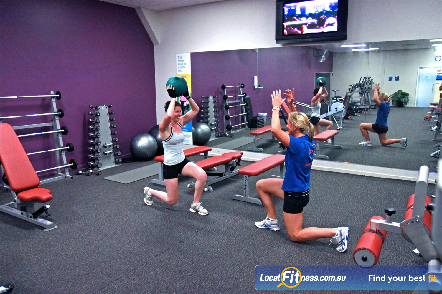 Goodlife Health Clubs Alexandra Hills Alexandra Hills personal trainers can tailor weight-loss and ladies specific programs.