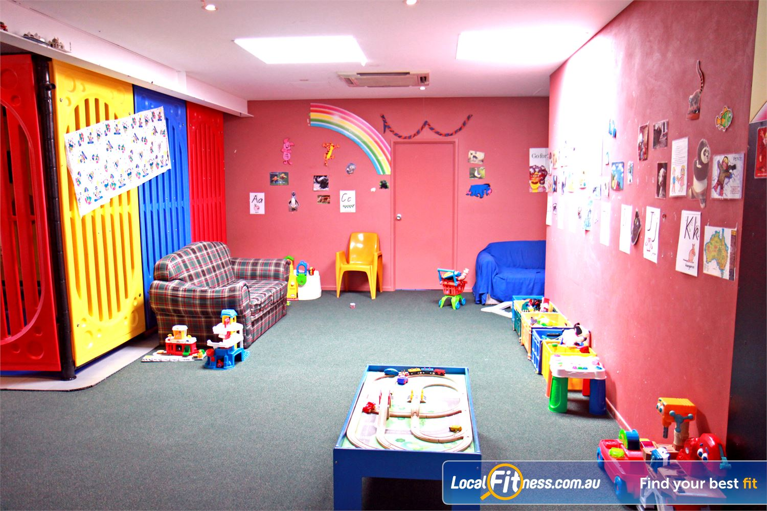 Goodlife Health Clubs Near Lota Our family-friendly environment includes an on-site child minding service.