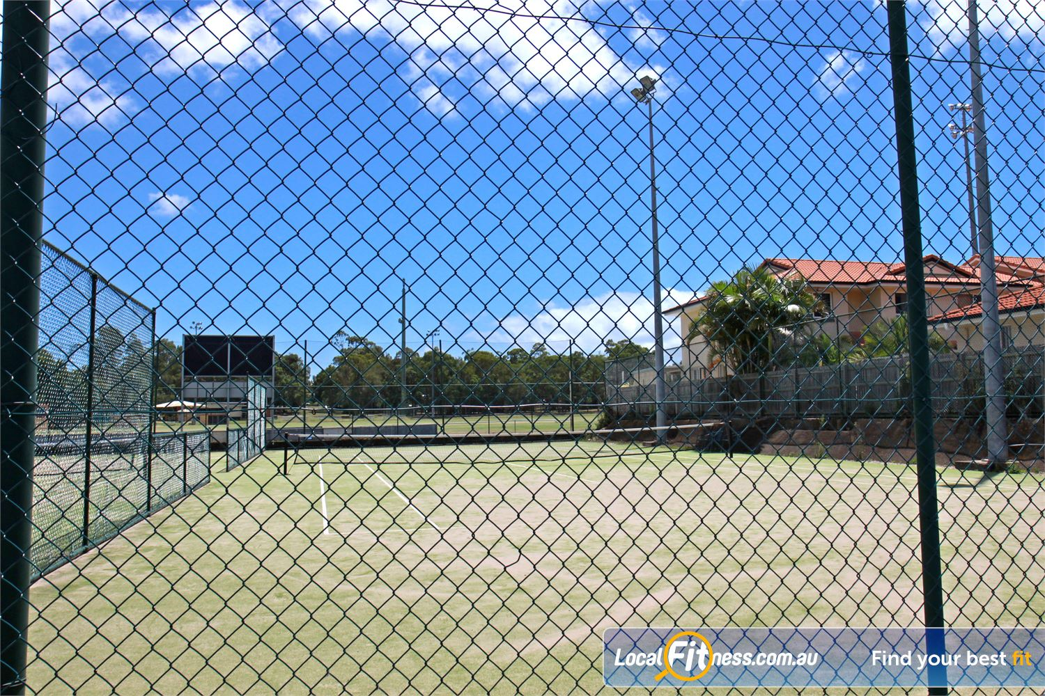 Goodlife Health Clubs Alexandra Hills Fancy a game of tennis at our Alex Hill Leisure Centre.