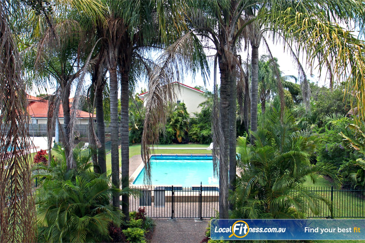 Goodlife Health Clubs Near Cleveland Multiple outdoor swimming pools in Alexander Hills.