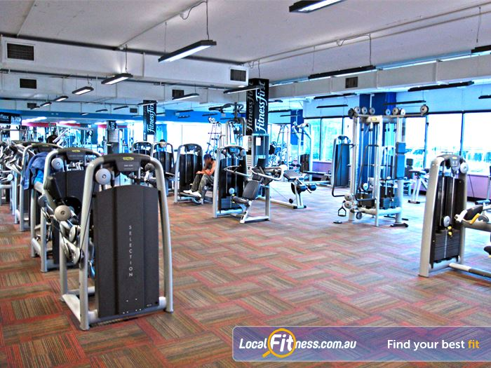 Goodlife Health Clubs Gym Underwood  | State of the art equipment from Technogym in