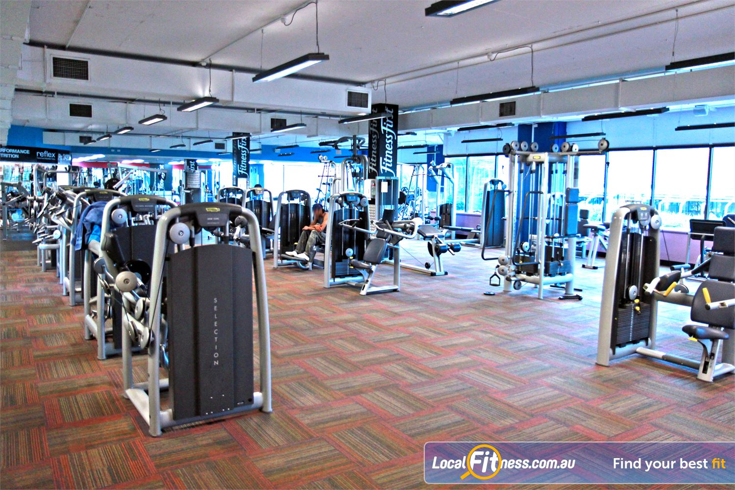 Goodlife Health Clubs Near Upper Mount Gravatt State of the art equipment from Technogym in our Mt Gravatt gym.