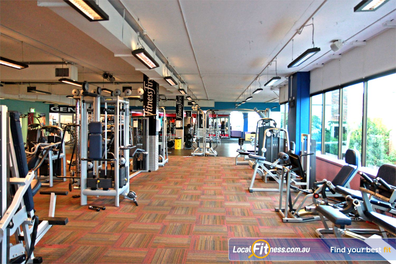 Goodlife Health Clubs Near Wishart Our main Mt Gravatt gym is located on level 2.