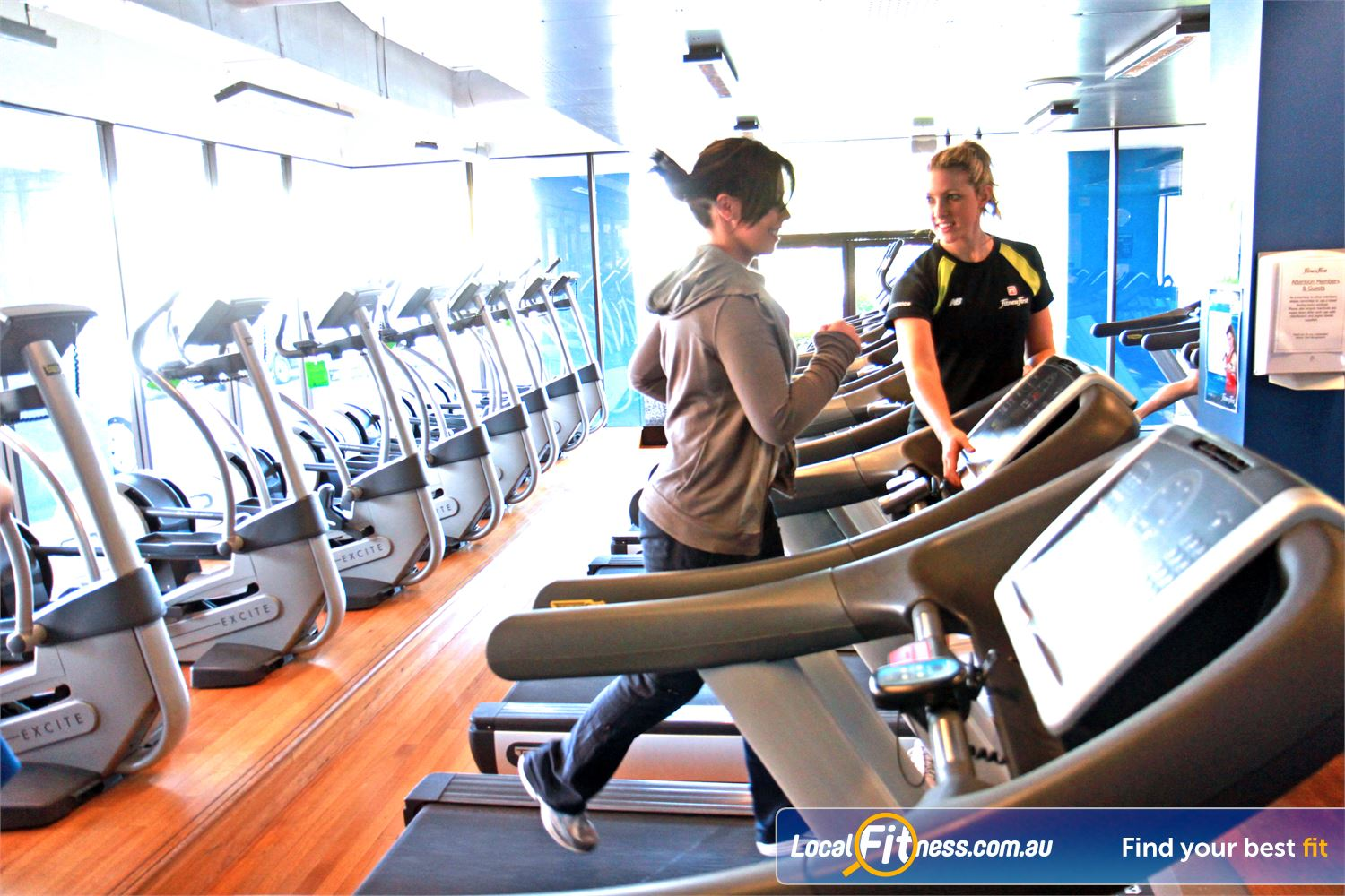 Goodlife Health Clubs Mount Gravatt Our supportive team can take you through a BASICS Cardio session.