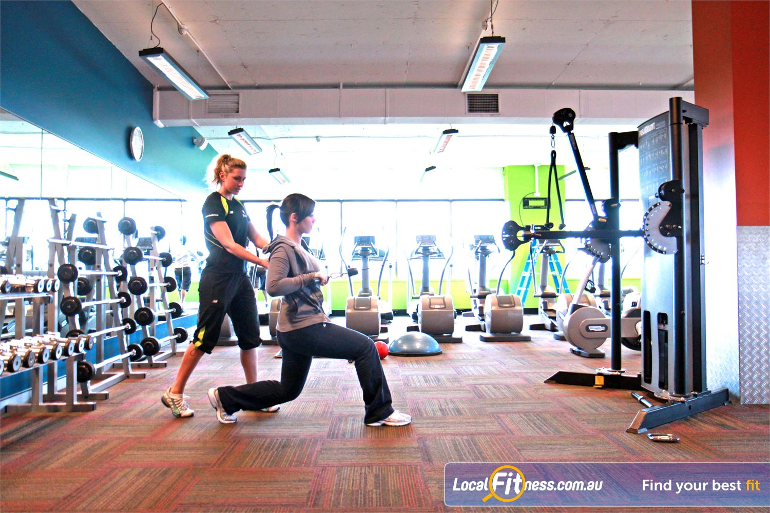 Goodlife Health Clubs Mount Gravatt Mt Gravatt personal trainers can on women's fitness and weight-loss goals.