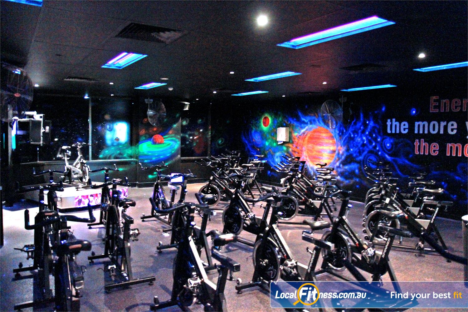 Goodlife Health Clubs Near Wishart Goodlife Mount Gravatt includes our signature Cosmic spin cycle classes.