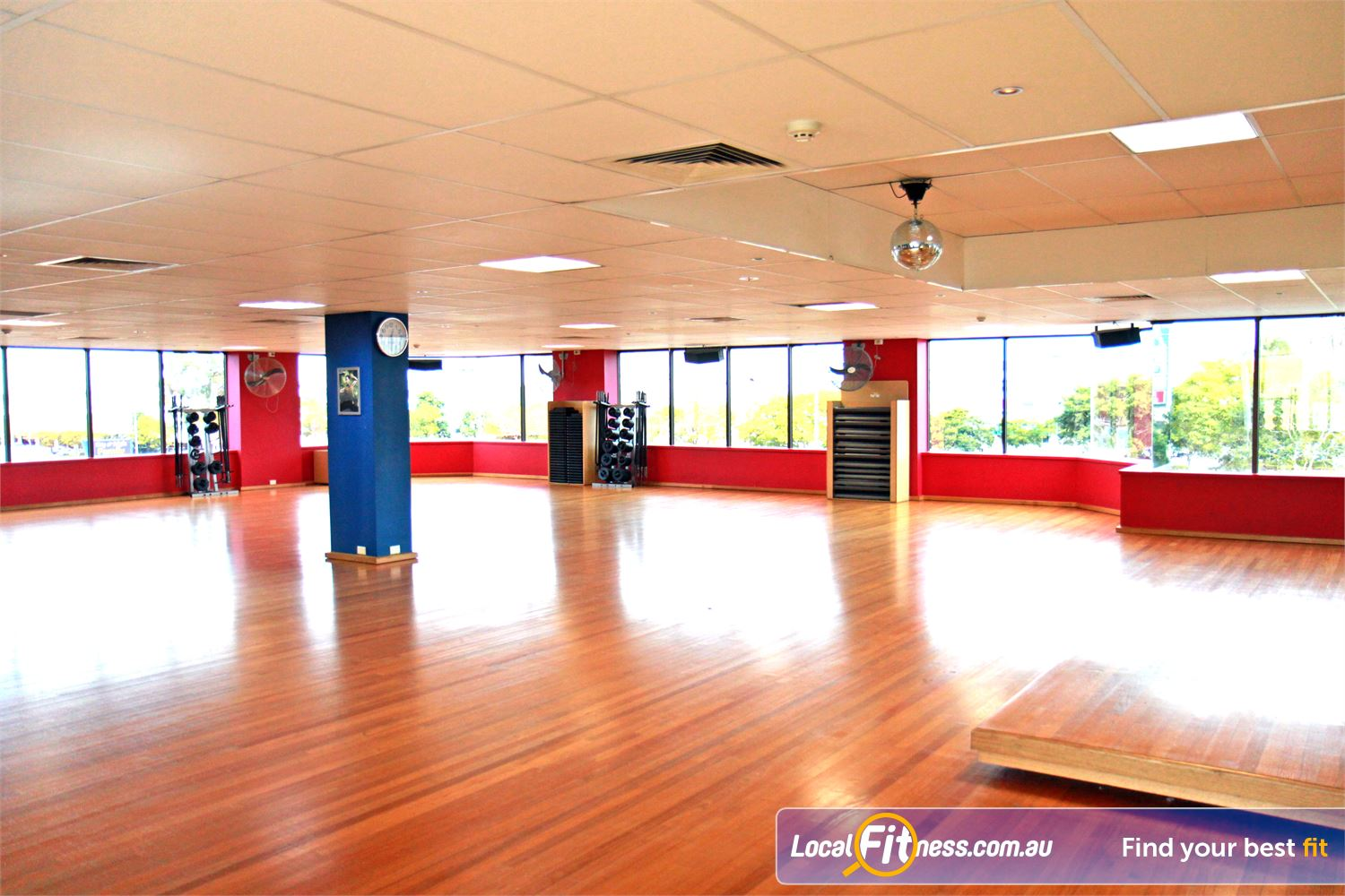Goodlife Health Clubs Near Carina Heights The exclusive aerobics studio houses popular Mt Gravatt group fitness classes.