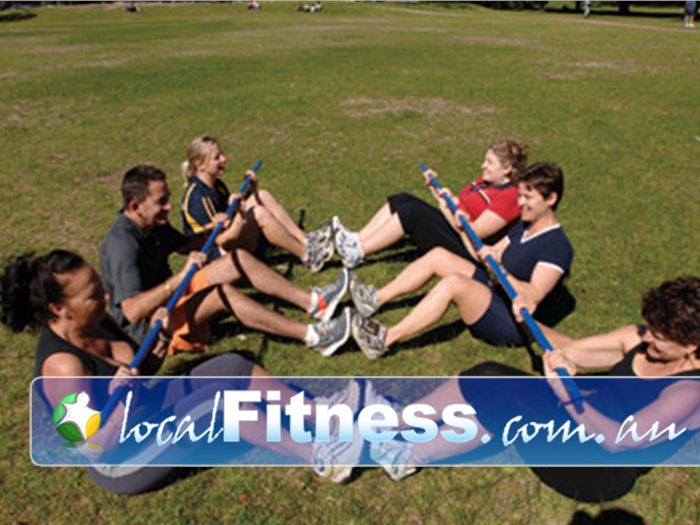 Step into Life Bendigo Outdoor Fitness Outdoor Train in the most beautiful
