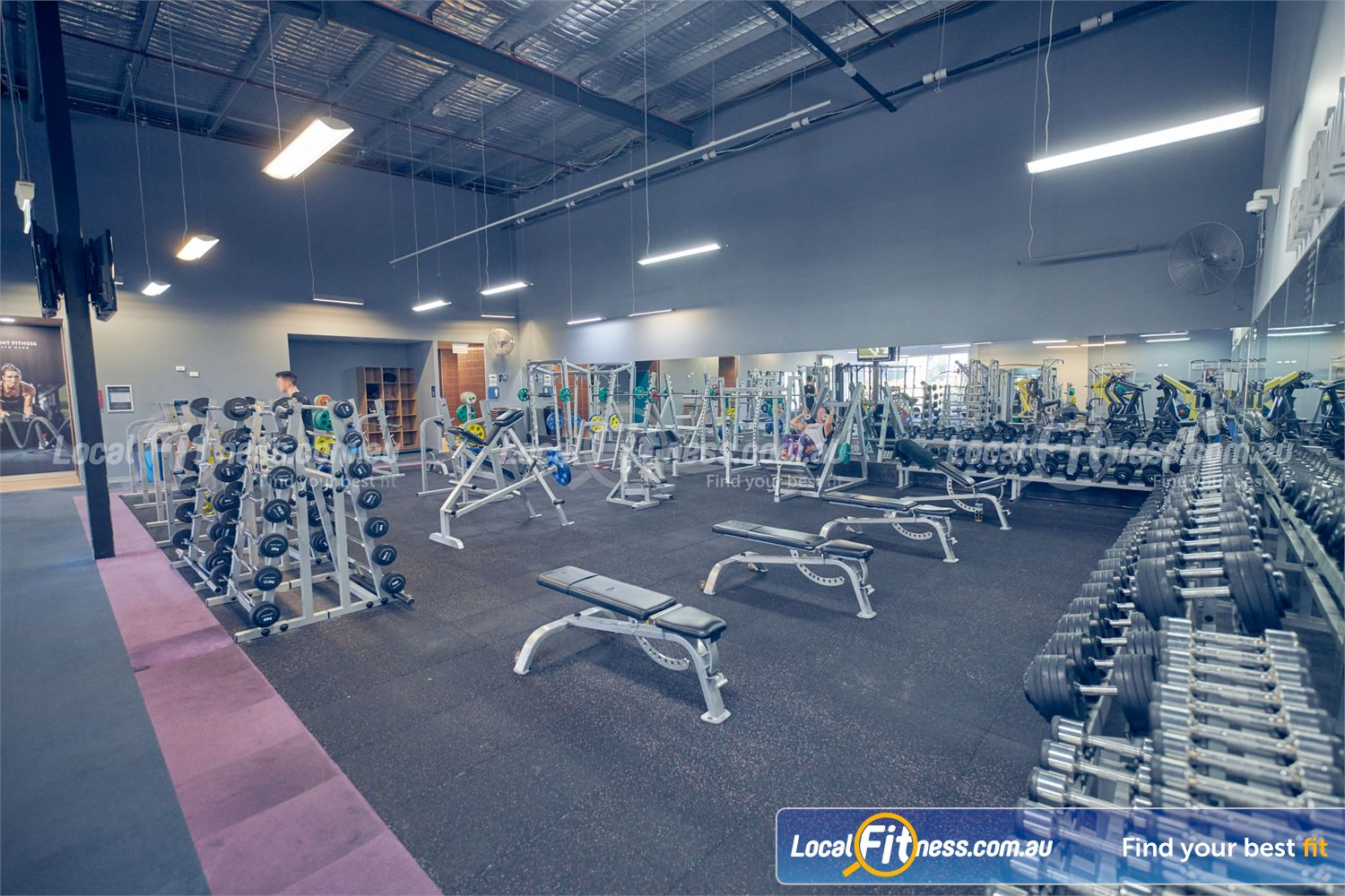 Element Fitness Health Club Near Vermont Get unlimited free-weight access to our 24/7 Nunawading gym.