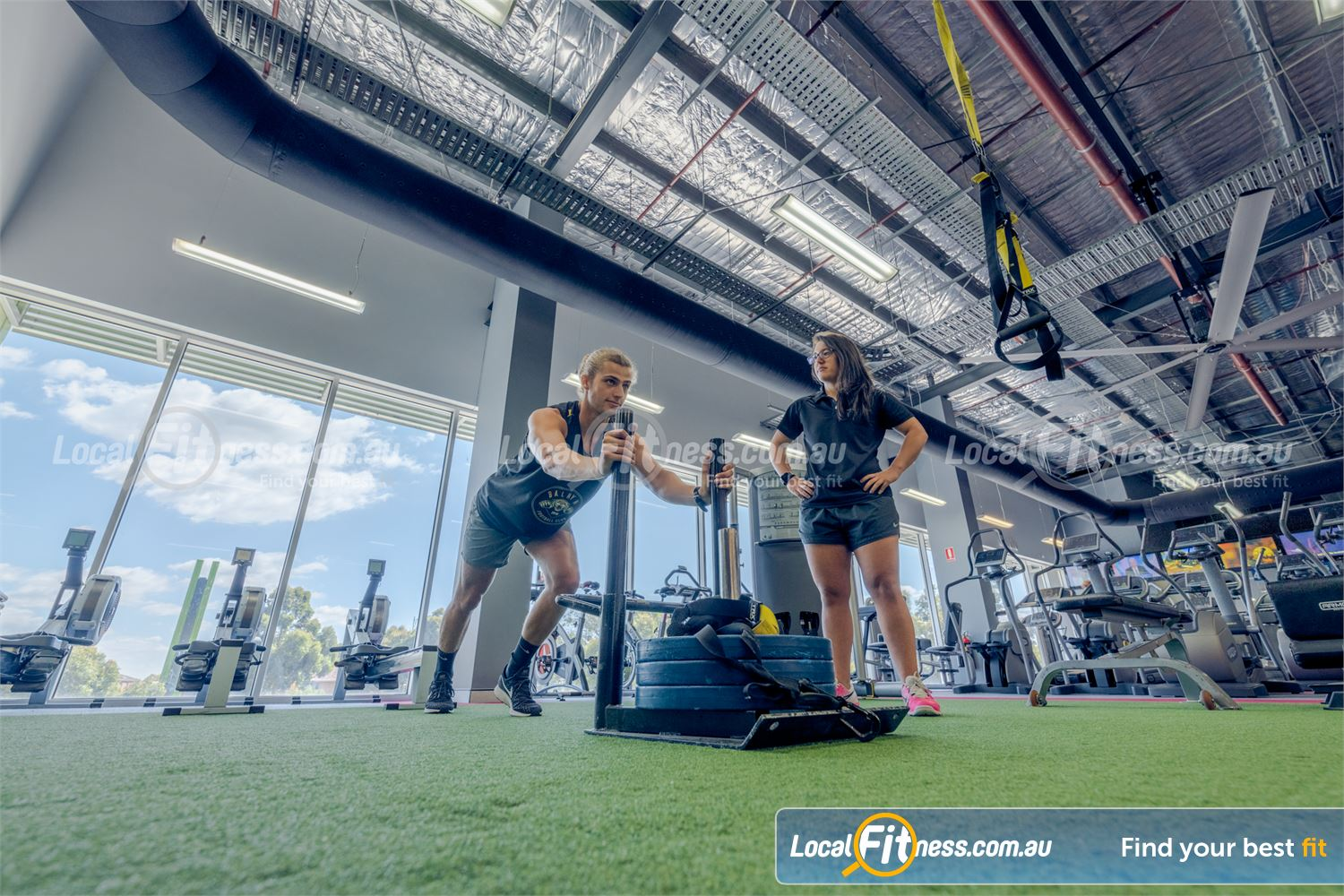 Element Fitness Health Club Near Vermont South Our Nunawading gym team can program functional training into your workout.