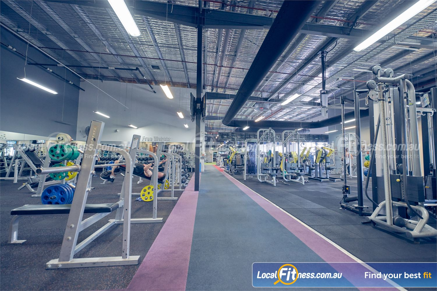 Element Fitness Health Club Nunawading The spacious Nunawading gym catering Mitcham and surrounding suburbs.