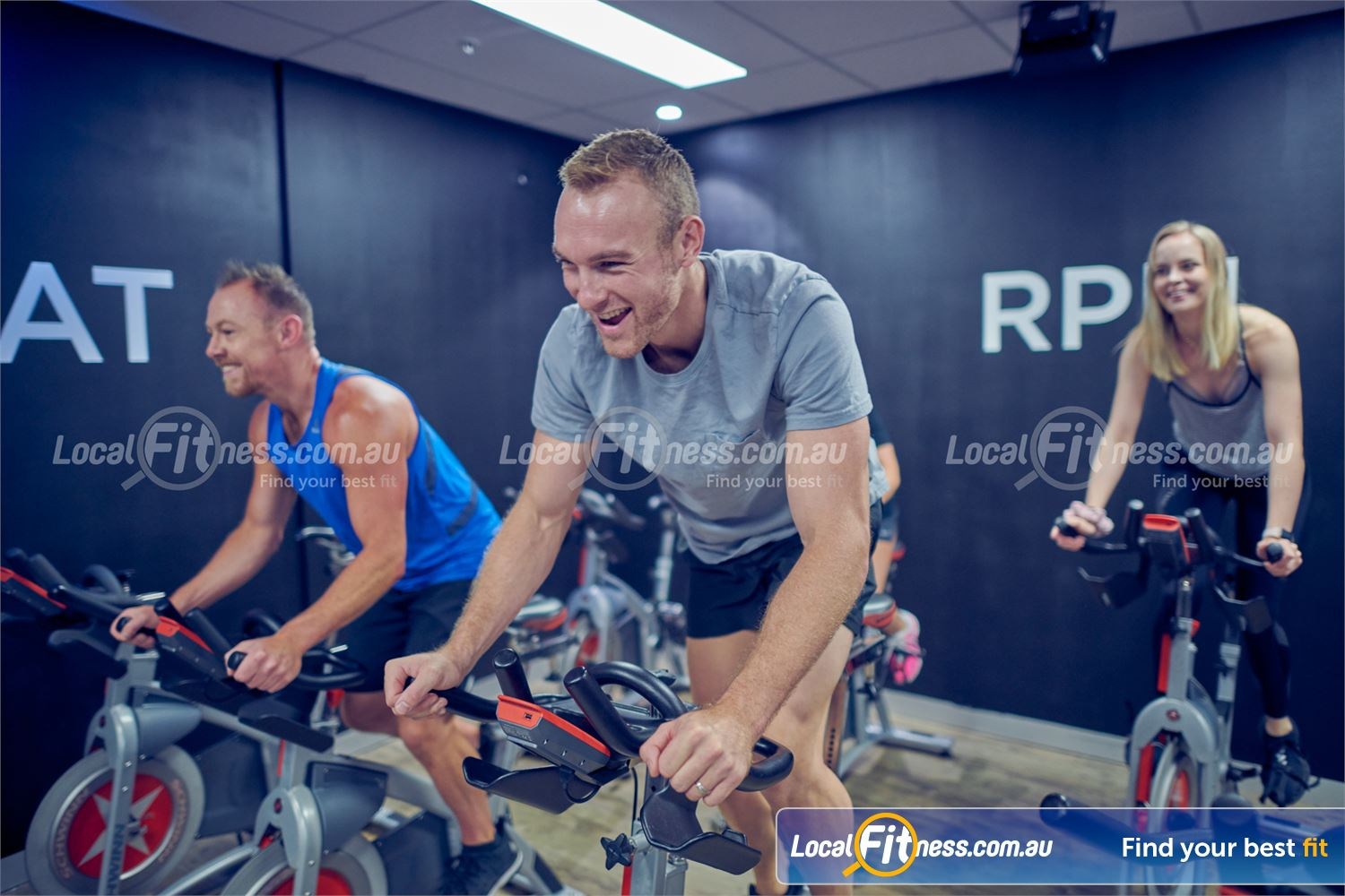 Element Fitness Health Club Near Mitcham Our energetic cycle classes will help you burn calories fast.