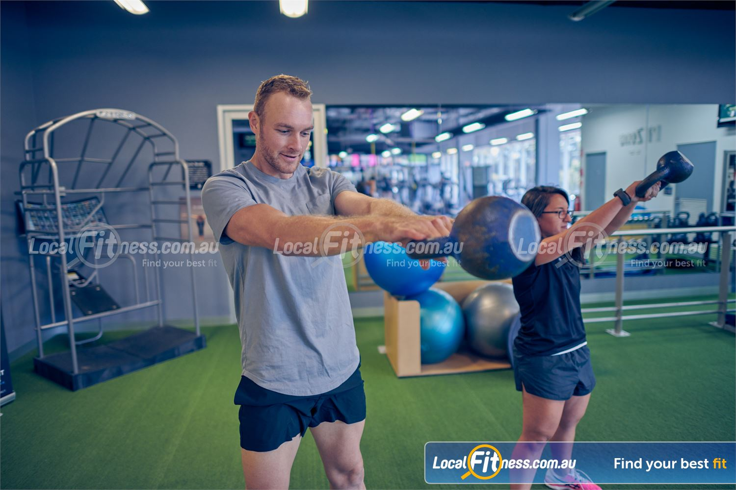 Element Fitness Health Club Near Vermont Our Nunawading personal trainers can take you through a kettlebell routine.