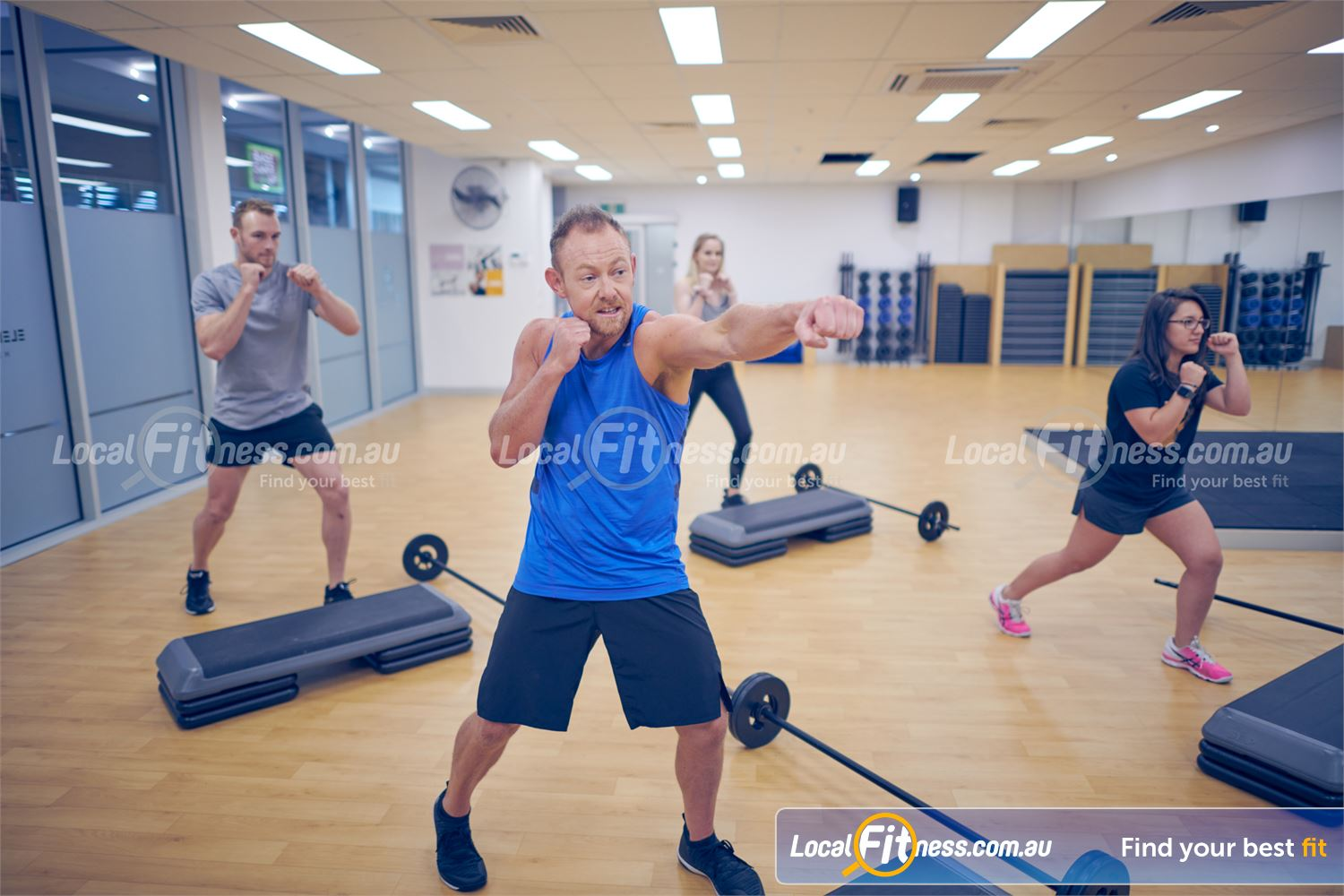 Element Fitness Health Club Near Vermont Get a energetic workout with classes inc. Les Mills, Nunawading boxing and more.