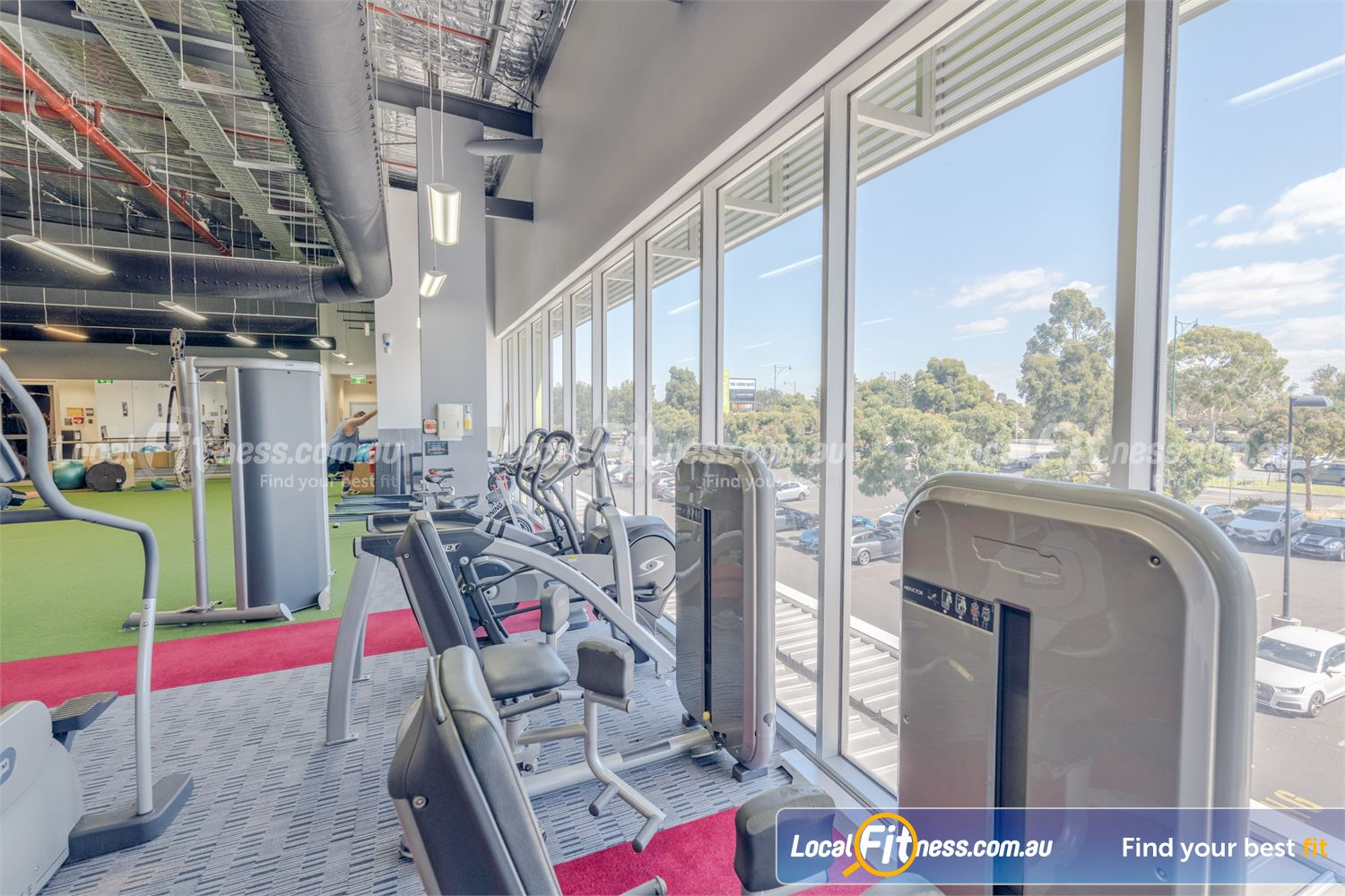 Element Fitness Health Club Near Vermont South Our Nunawading gym utilises state of the art Technogym strength equipment.