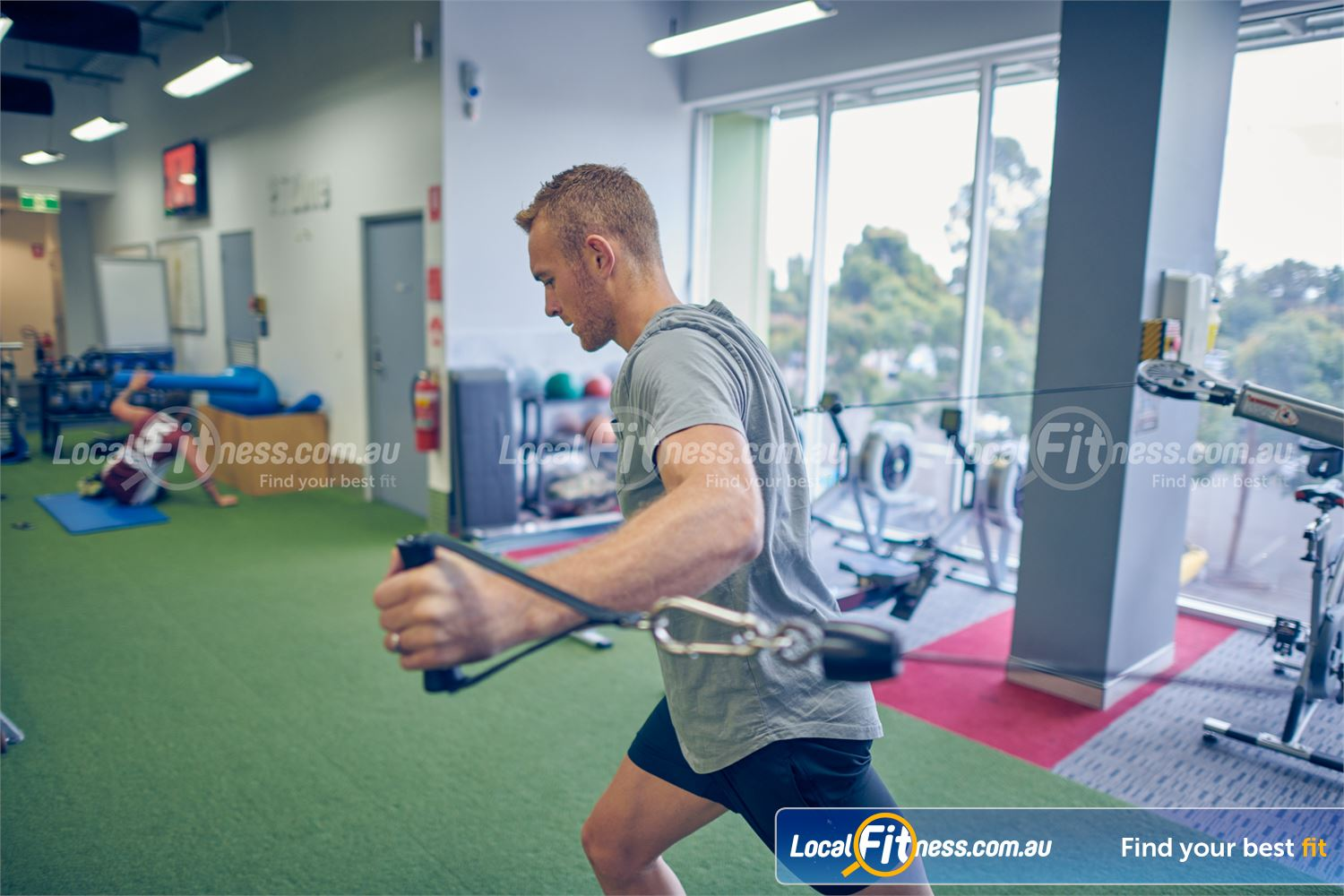 Element Fitness Health Club Near Vermont South Plenty of training space in our functional training zone.
