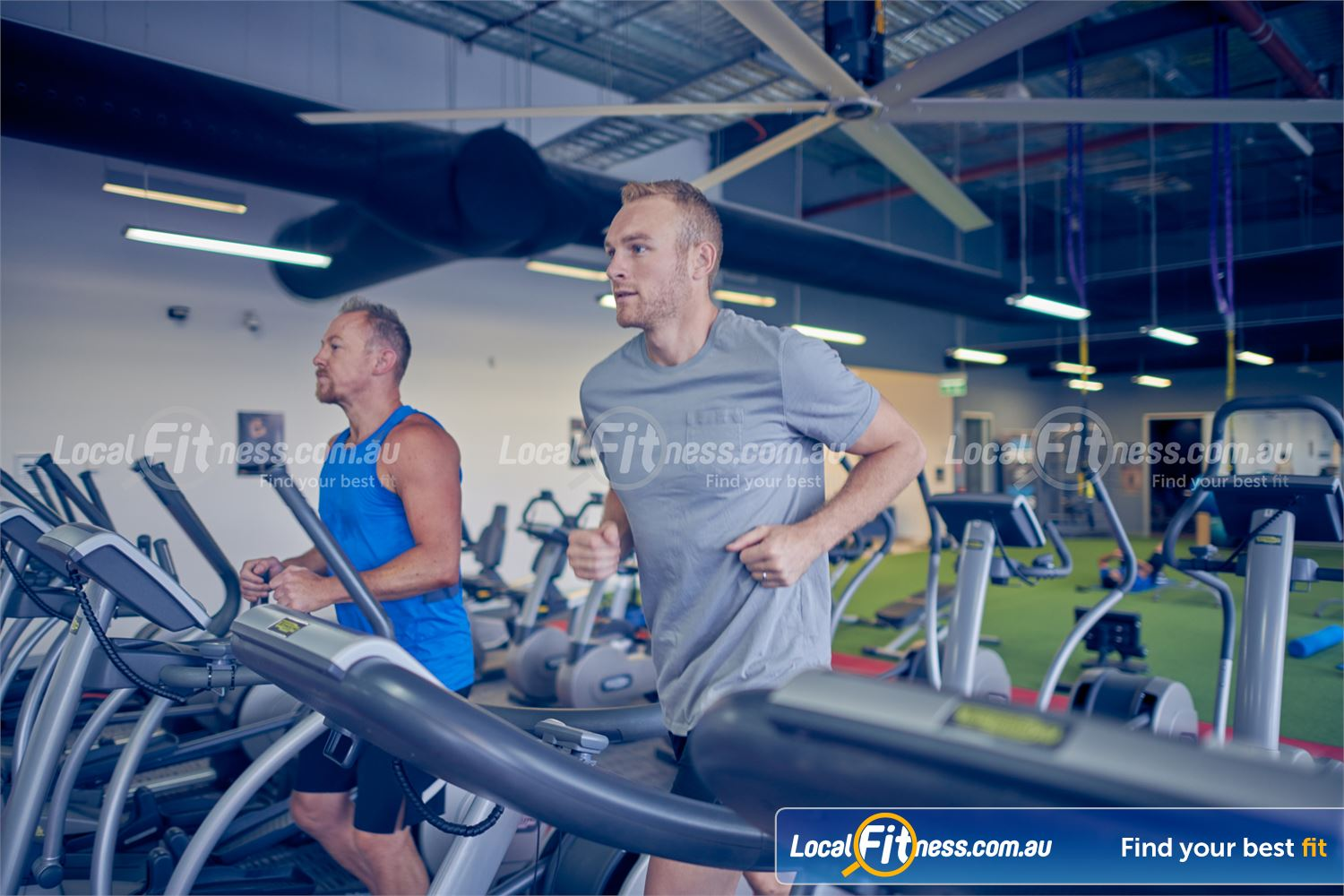 Element Fitness Health Club Nunawading Do a cardio workout when it suits you with 24/7 Nunawading gym access.