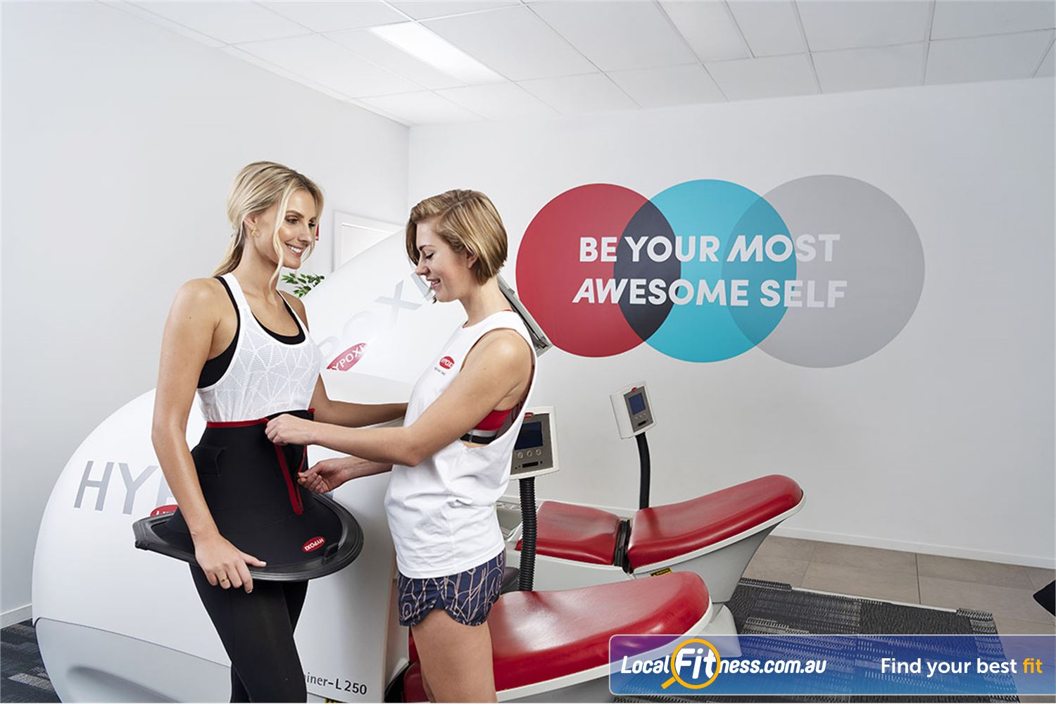 HYPOXI Weight Loss Waterloo All it takes is 30 minutes of low-impact exercise in our Waterloo weight-loss studio.