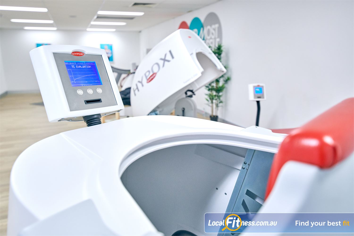 HYPOXI Weight Loss Waterloo The HYPOXI L250 is like a cycle machine from the future.