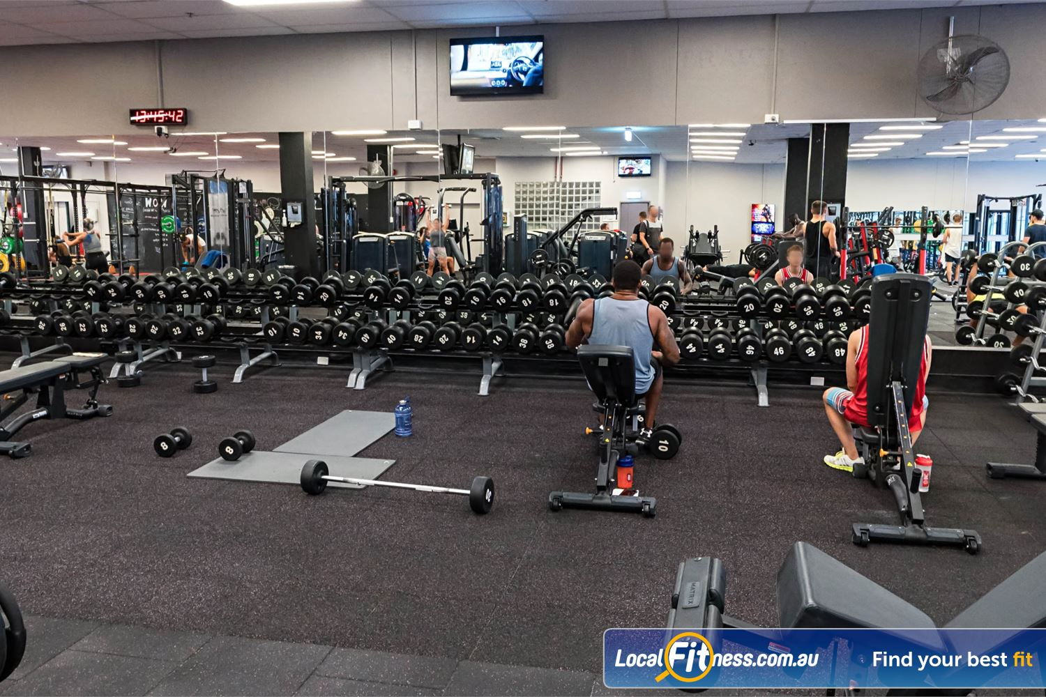 Fitness First Platinum Spring St Near Bellevue Hill Our Bondi gym provides multiple strength zones including the free-weights zone.